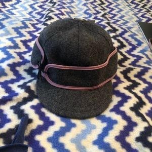 Stormy Kromer hat new with tags. Gray and pink